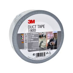 3M™ Value Silver Duct Tape 1900 - 50mm x 50m