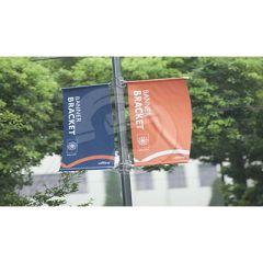 Banner Lamp Post Bracket Kit - Standard