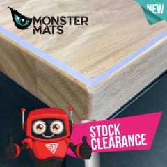 Off Cuts - Monster Mats Clear Self-Healing Cutting Mats