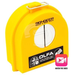 OLFA DC-2 Heavy Duty Blade Disposal Case
