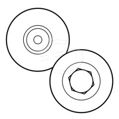 Replacement Cutting Wheels for Excalibur 3S Twin Wheel Cutting Head