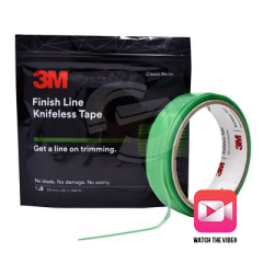 3M™ Finish Line Knifeless Tape - 10m Trial Sized Roll