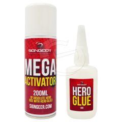 Hero SuperGlue & Activator Starter Kit