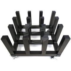 Signgeer Heavy Duty Mobile Vinyl Floor Rack