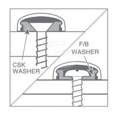 Snapcap Washers