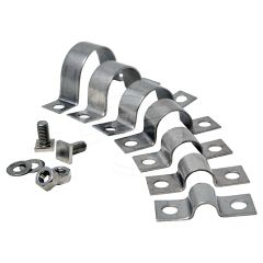 Mini D Clips with Nuts, Bolts & Washers