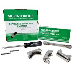 Multi-Tamtorque Stainless Steel Banding & Connector Starter Kit