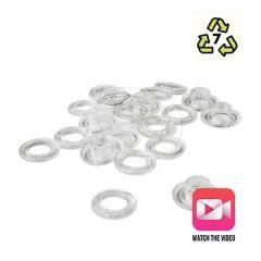 Plastic - Plastgrommet Plastic Eyelets (Long Necked)