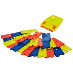 Scraperite Plastic Razor Starter Kit - Original Handle & 24 Mixed Blades