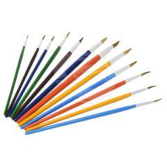 Tapered Fine Bristle Brushes