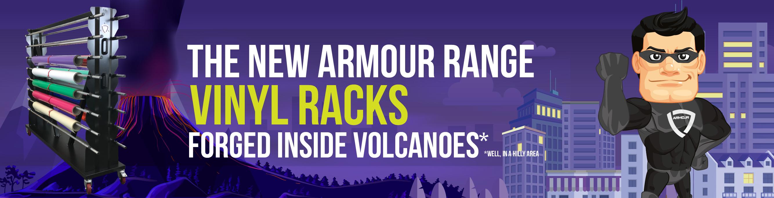 Armour Vinyl Racks